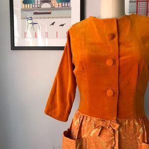 Vintage • Demeter Midi Dress